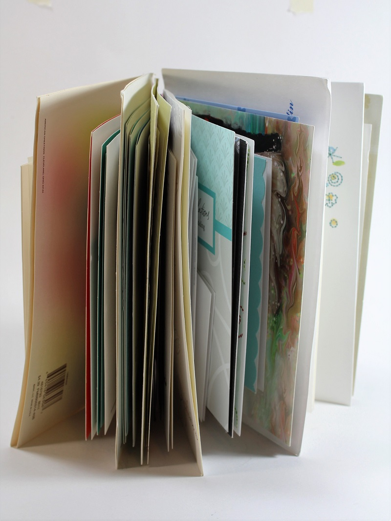 wedding card book with inserts