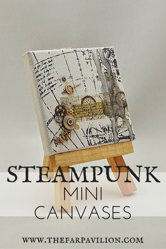 Steampunk Mini Canvases