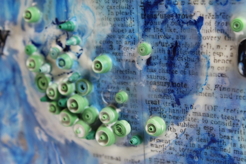 nautical encaustic decor