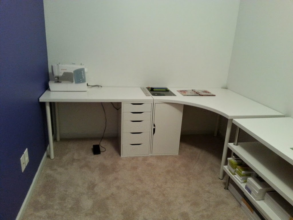 new art studio ikea desks
