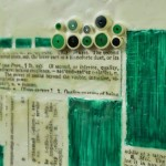 Encaustic Art with Paper Elements