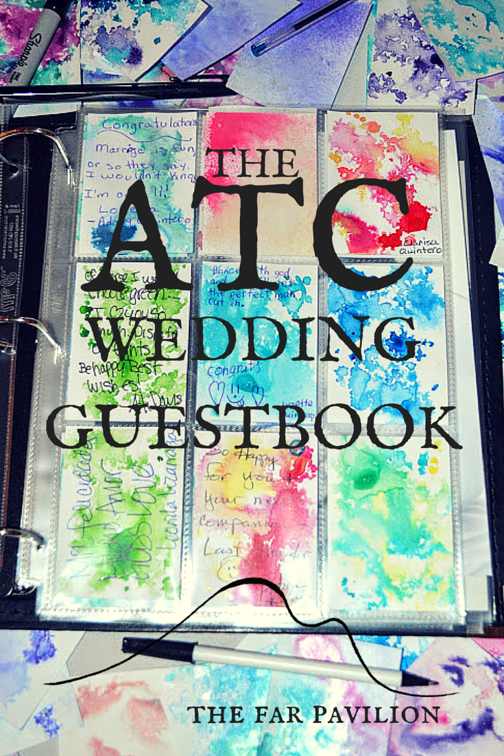 The ATC wedding guestbook