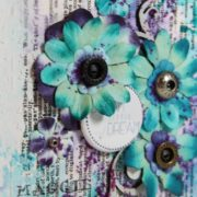 altered covers using mixed media techniques