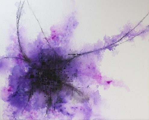 abstract painting tutorial